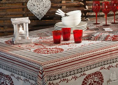 Kitchen fabrics - Cortina tablecloth - BEAUVILLÉ