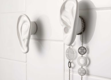 "Layout - ""Walls have ears"" Wall hooks/Coat rack - MADE IN WAW ! BY CAROLINE SCHILLING"