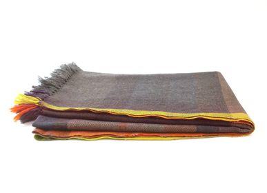 Throw blankets - Dali plaid - ML FABRICS