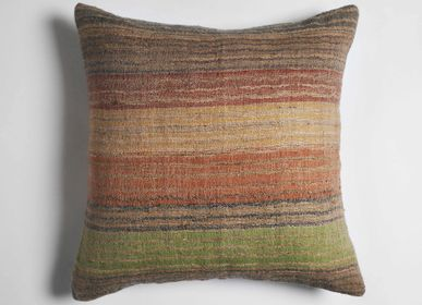 Cushions - Ocean Striped Wool Cushion - ML FABRICS