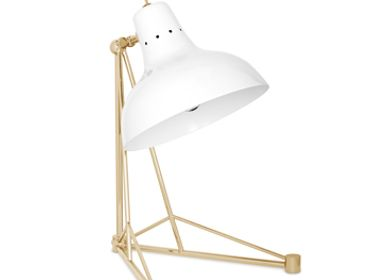 Table lamps - Diana Table Lamp White Gold - CIRCU