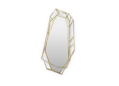 Mirrors - Diamond Wall Mirror - COVET HOUSE