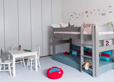 Beds - Rolling desk and drawers box for raised bed - MATHY BY BOLS
