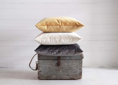 Fabric cushions - Floyd washed Velvet Cushion cover - ML FABRICS