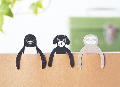 Stationery - Clip Family  paper clips / bookmark - SUGAI WORLD