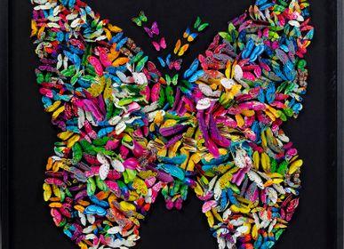 Décoration murale - Cadre déco Farfalla 120x120cm - KARE DESIGN