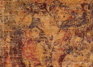 Design carpets - Fading fall, ArtWork, original handknotted carpet - CREATIVE DESIGNS BY MICHELE
