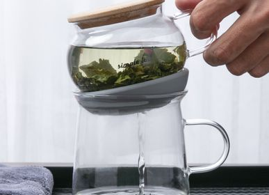 Tea / coffee accessories - AIRO Tea Set. Easy to brew air-lock | magical infusion - SIMPLE LAB EXPERIENCE