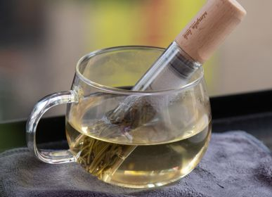 Tea / coffee accessories - ELIXIR(+). glass tea stick / infuser - SIMPLE LAB EXPERIENCE
