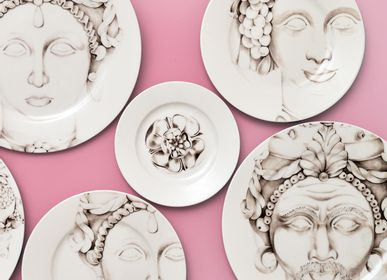 Ceramic - Teste di Moro_Plates - FRANCESCA COLOMBO