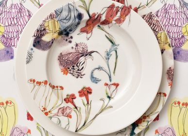 Ceramic - The Grandma 's Garden Plates Collection - FRANCESCA COLOMBO