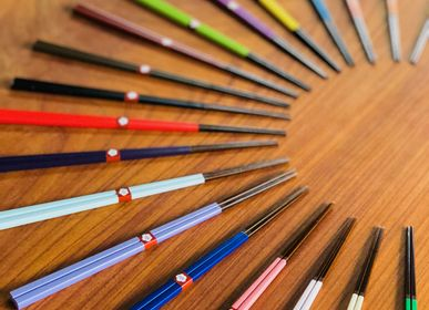 Gifts - Beautiful Bamboo chopsticks in 20 colours - HASHIFUKU