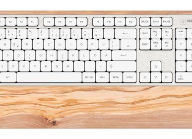 Gifts - Computer keyboard - Olive wood - GEBR. HENTSCHEL GBR