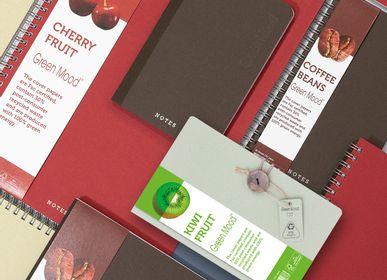 Cadeaux - GREEN MOOD COLLECTION carnets et agendas écologique - DINATALESTYLE