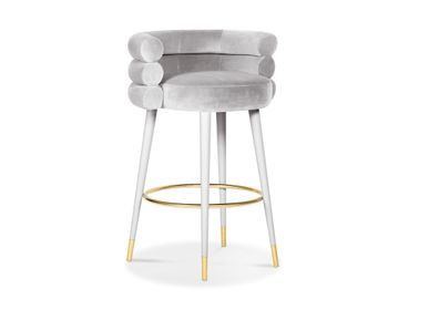 Chairs - MARSHMALLOW Bar Stool - ROYAL STRANGER