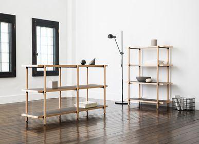Shelves - LOG Shelve - Matt Wooden - METROCS