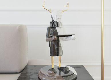 Sculpture - Hand Sculpture Zé Veado - MANTA HANDMADE STONE DESIGN