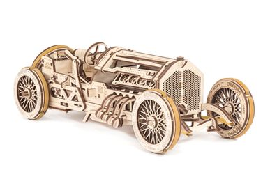 Design objects - Ugears - U-9 Grand Prix Car - UGEARS