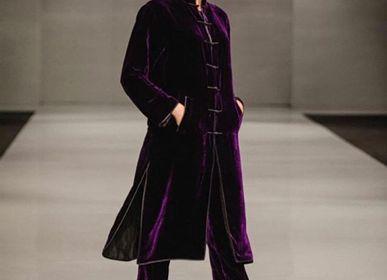 Homewear - manteau en velours de soie - LA SENSITIVE-SENSITIVE ET FILS-LES TAMBOURS DE BRONZE