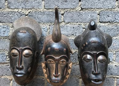 Decorative objects - Baule Mask  - AFRICAN GALLERY