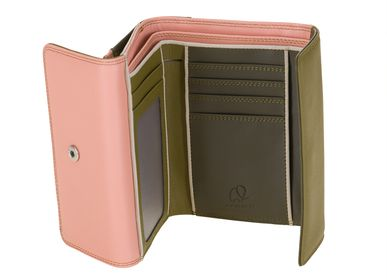 Leather goods - 250 - Double Flap Purse wallet - MYWALIT