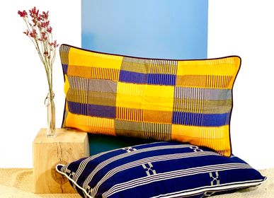 Cushions - Pognio cushions woven in Togo - COUSSIN D'AFRIQUE