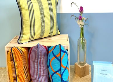 Cushions - Woven cushions in Togo - COUSSIN D'AFRIQUE