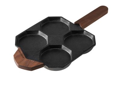Formal plates - Egg Pan [Pre-Seasoned Cast Iron]  - MOMMY'S POT