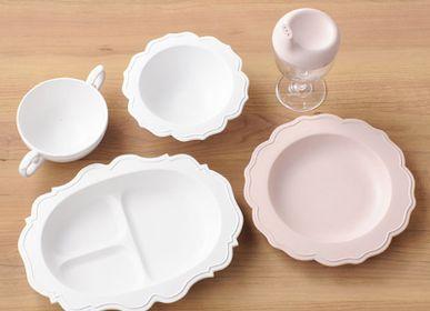 Repas pour enfant - REALE Ensemble de vaisselle pour enfant (5 plats) /plastique de bambou japonais biologique | respectueux de l'environnement | sans BPA - REALE