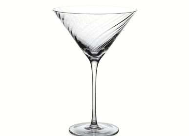 Stemware - Twist Diamond Martini Glass - MICHAEL ARAM