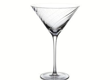 Verres à pied - Verre à Martini Twist Diamond - MICHAEL ARAM