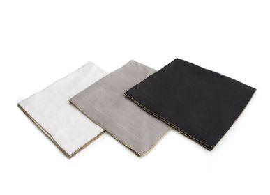Serviettes - Serviette en laiton perlé - MICHAEL ARAM