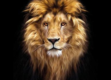 Autres décorations murales - MONDiART, AluArt, Beautiful Lion - MONDIART ART & DECORATIONS