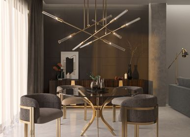 Chambres d'hotels - Labics Suspension - CASTRO LIGHTING