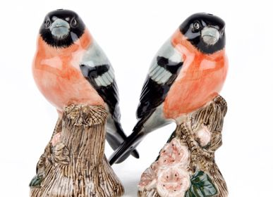 Decorative objects - Bullfinch salt and pepper - QUAIL DESIGNS