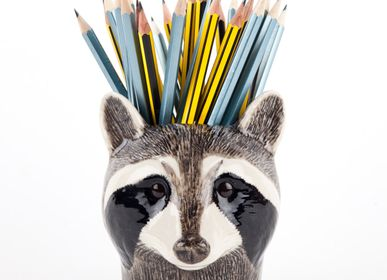 Organizer - Raccoon pencil pot - QUAIL DESIGNS