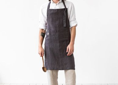 Tabliers de cuisine - Men's linen apron - MAGIC LINEN