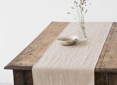 Kitchen linens - Linen table runner in various colors - MAGIC LINEN