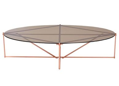 Tables basses - TENSEGRITY OVAL COFFEE TABLE - TONICIE'S