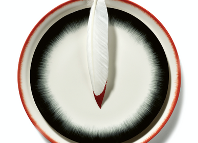 Formal plates - Dice by Ann Demeulemeester - Serax - ANN DE MEULEMEESTER - SERAX
