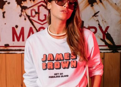 Prêt à porter - SWEAT SHIRT JAMES BROWN - FABULOUS ISLAND LTD