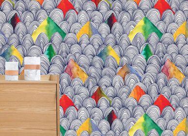 Papiers peints - Papier peint Grand Large sur mesure & personnalisable - CAMILLE PIANEL MOTIFS