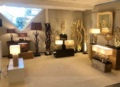 Éclairage encastrable - ÉCLAIRAGE EN BOIS | Lampes en bois - XYLEIA NATURAL INTERIORS