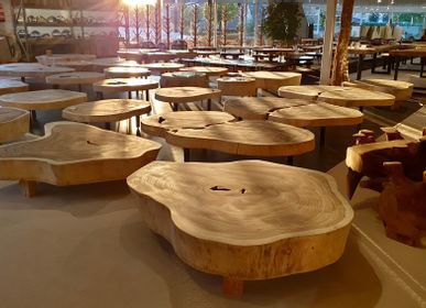 Coffee tables - WOOD | Coffee tables of Suar wood - XYLEIA NATURAL INTERIORS
