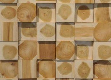 Wall decoration - WALL PANELS | Wall panels made of wood - XYLEIA NATURAL INTERIORS