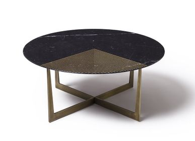 Tables basses - TABLE BASSE GOLD RADIUS - TONICIE'S