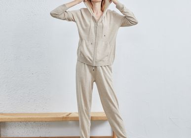 Homewear - Cashmere knitted jogging trousers - SANDRIVER MONGOLIAN CASHMERE