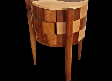 "Chests of drawers - CYLINDRICAL FURNITURE ""ÉLISA"" - ATELIER DANIEL PELEGRIN"