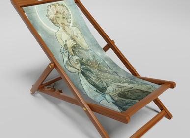 Deck chairs - DECKCHAIR / BEACH CHAIR  - CALAIG ART & DESIGN