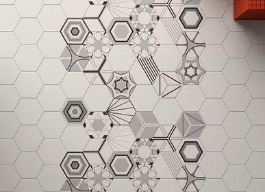 Cement tiles - Paprica - MARCA CORONA